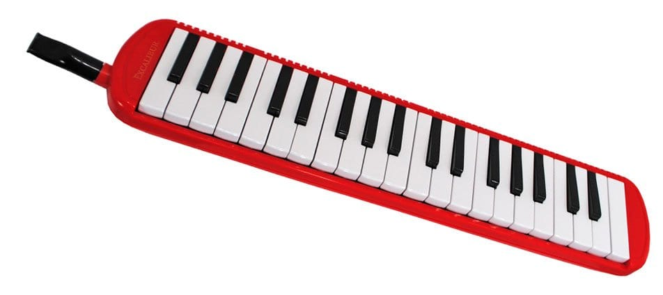 Excalibur 37 Note Pro Artist Series Melodica - Red