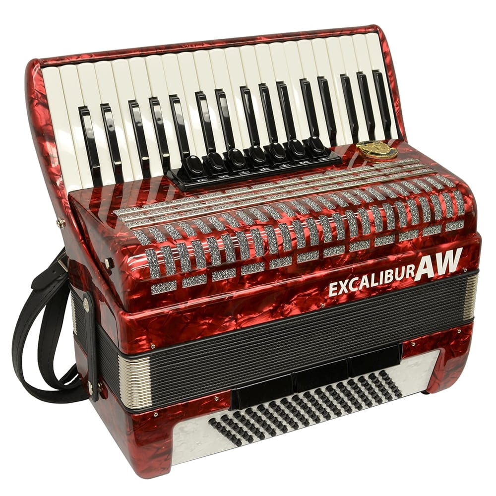 Excalibur Akordeon Werks (AW) 96 Bass Piano Accordion
