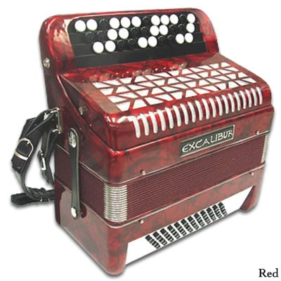 Excalibur Chromatic 60 Bass Accordion