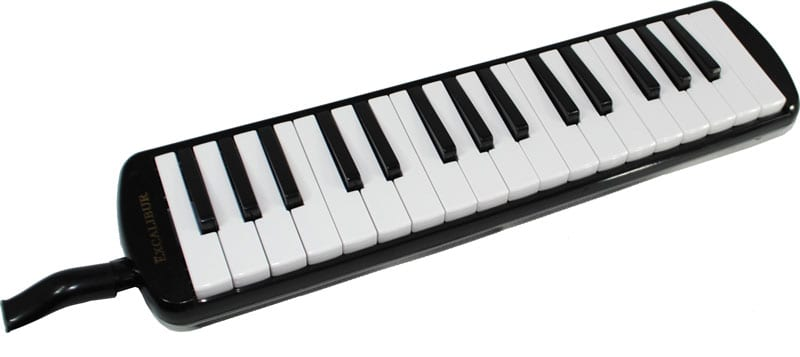 Excalibur 32 Note Pro Artist Series Melodica Black