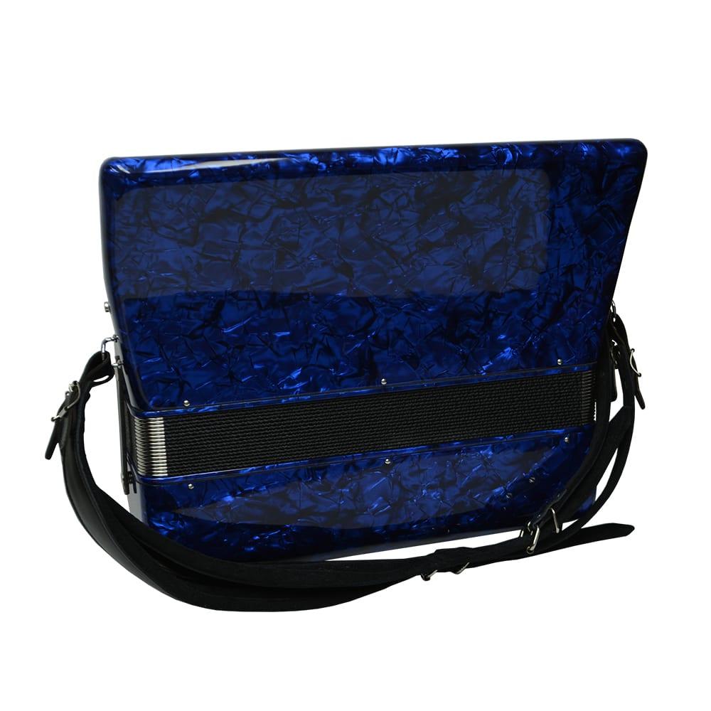 Excalibur Super Classic 120 Bass Accordion - Dark Blue