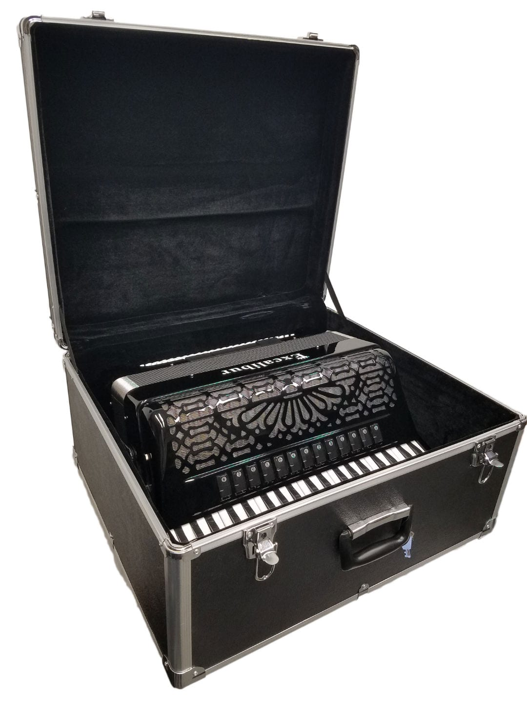 Excalibur Hard Shell Accordion Case Black