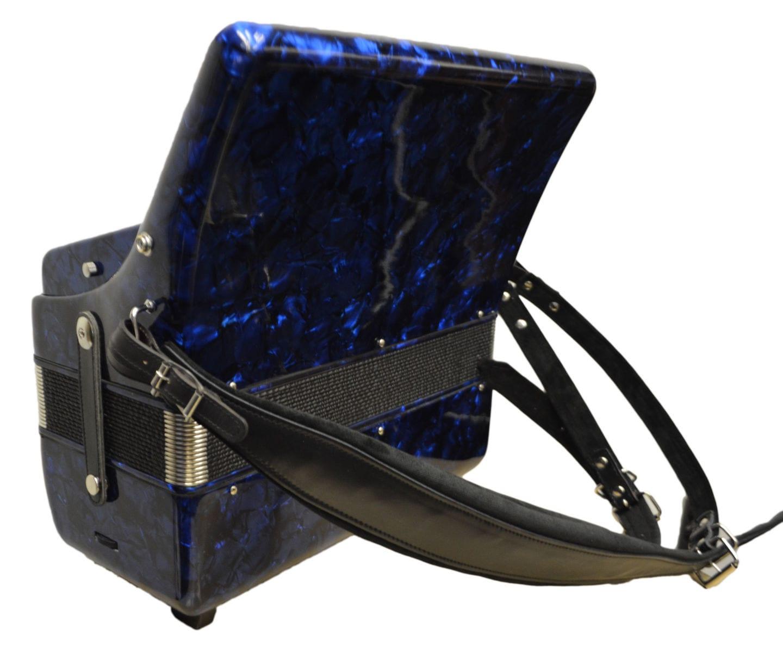 Excalibur Super Classic 72 Bass Accordion - Dark Blue