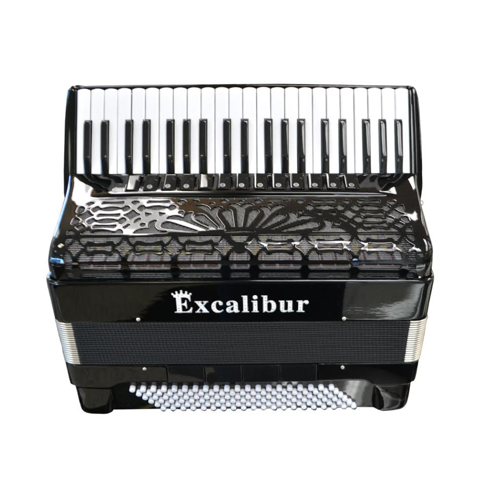 Excalibur Crown Series ELX Real Digital Accordion - Triple Mussette