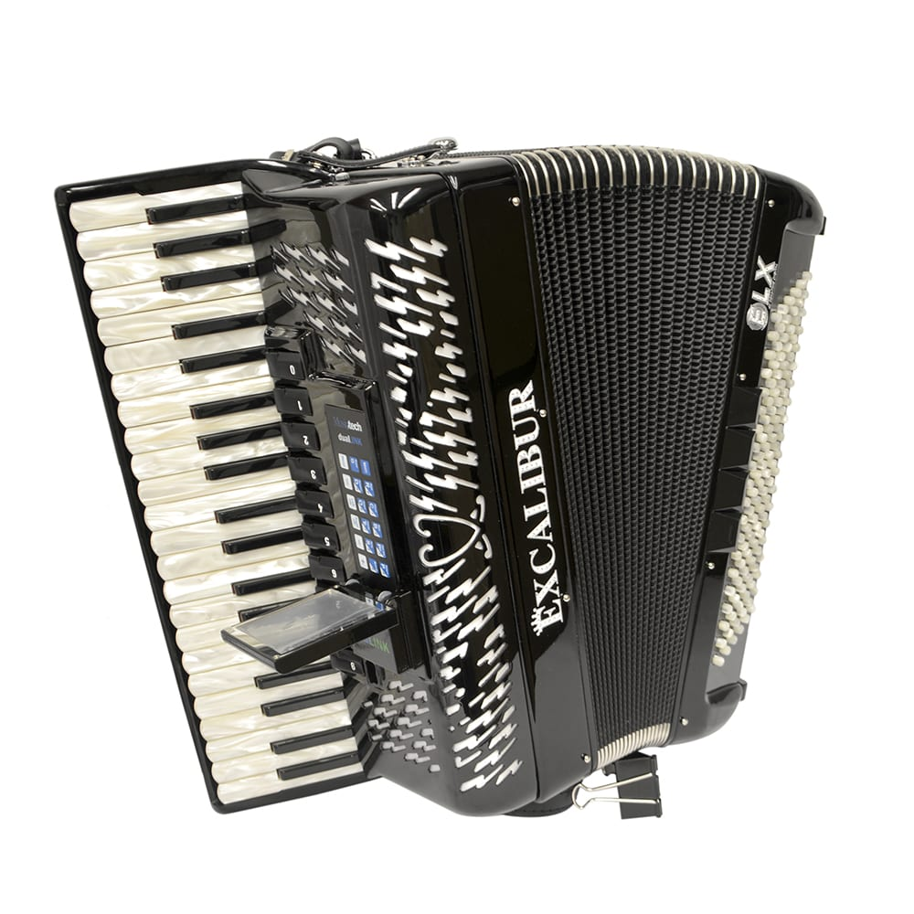 Excalibur Crown Series ELX Real Digital Accordion