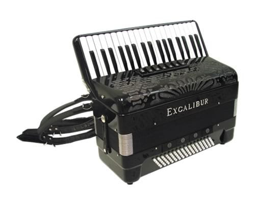 Excalibur Professionale Crown 80 Bass Accordion