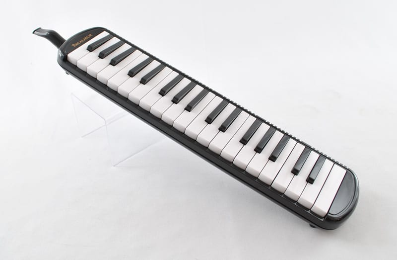 Excalibur 37 Note Pro Artist Series Melodica Black
