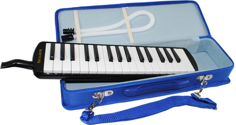 Excalibur 32 Note Pro Artist Series Melodica Black