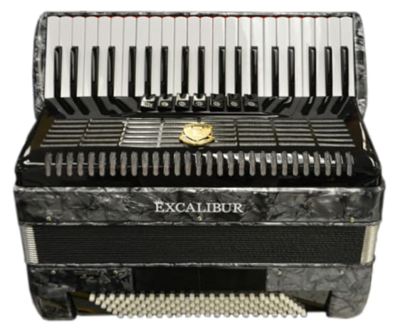 Excalibur German Weltbesten UltraLite 120 Bass 7 Switch - Grey