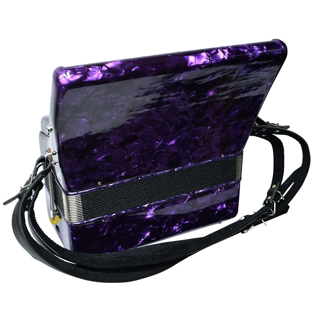 Excalibur Geneva 24 Bass Piano Accordion - Purple