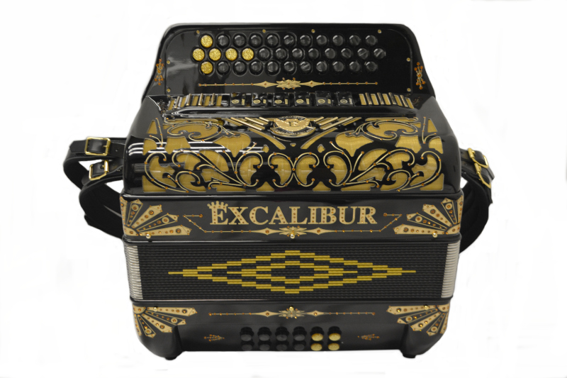 Excalibur Crown Custom Two Tone Black Gold Limited
