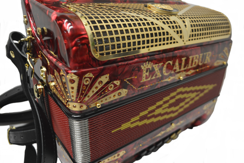 Excalibur Crown Custom Red/Gold LTD Edition Two Tone GCF FBbEb