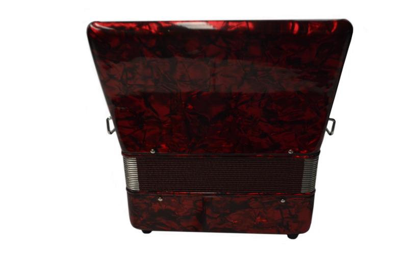 Excalibur Premier 22 Piano Accordion - Red