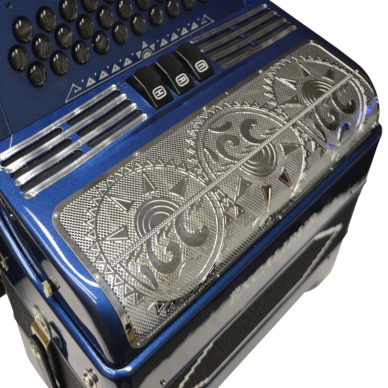 Excalibur 34 Key PSI LTD Edition Eldorado Blue