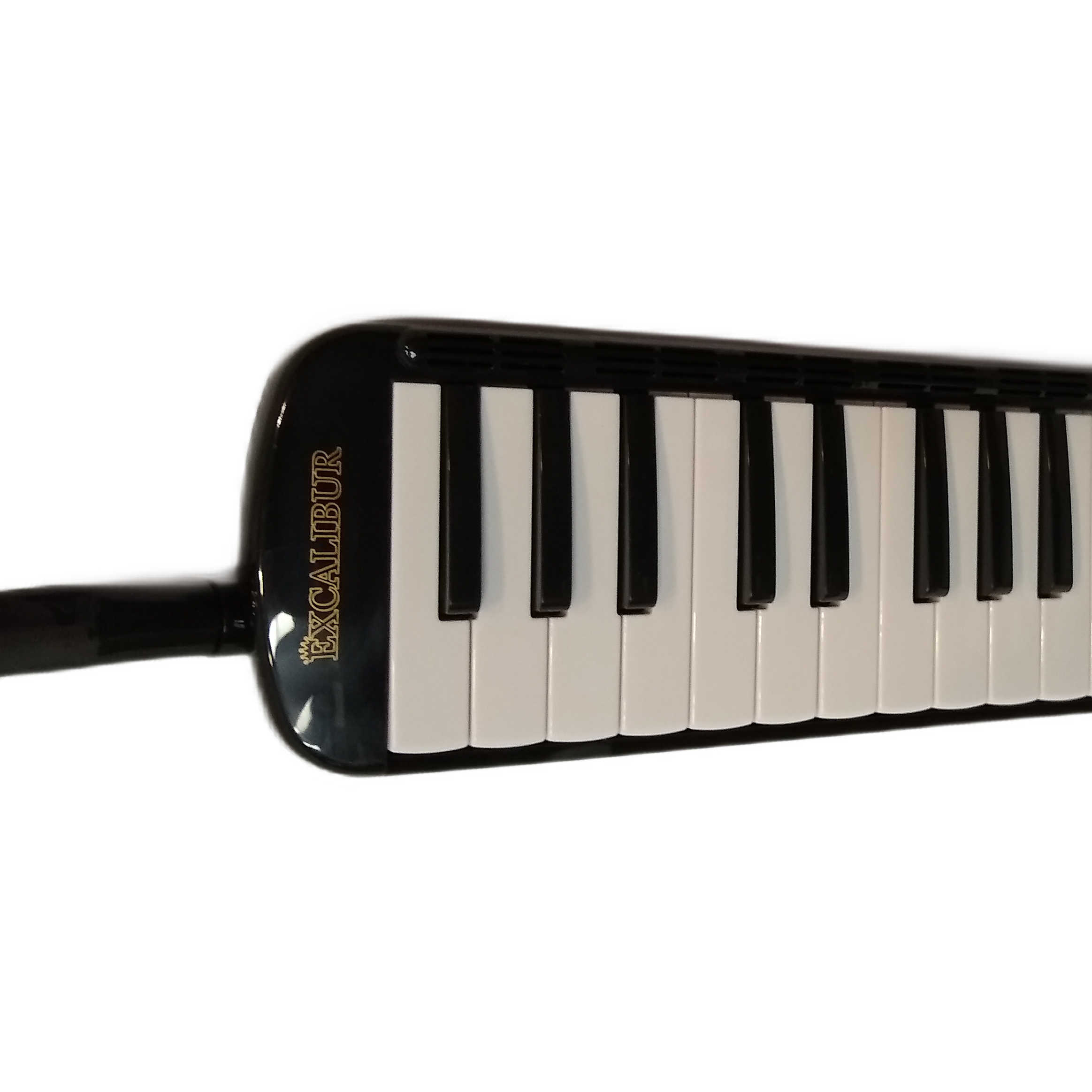 Excalibur 37 Note Transparent Pro Series Black Polish